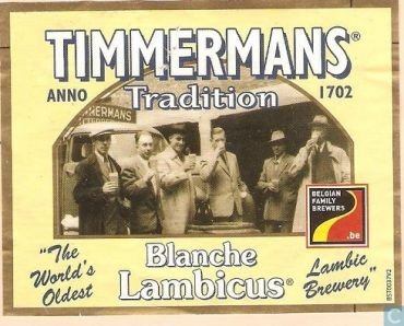 Timmermans Blanche Lambicus 37P
