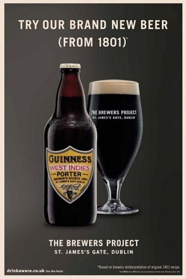 Guinness West Indies Porter 50P