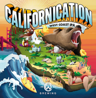 CWB Lausanne Californication IPA 33P