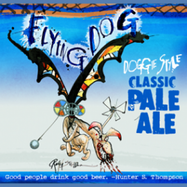 Flying Dog Doggie Style Pale Ale 35P