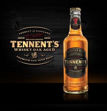 Tennent's Whisky OAK 33P