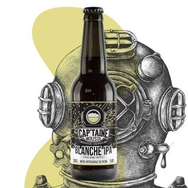Cap'Taine Mousse Blanche IPA 33P