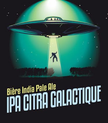 Grand Paris IPA Citra Galactique 33P