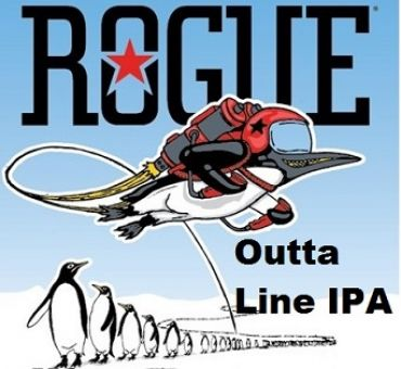 Rogue Outta Line IPA 35P