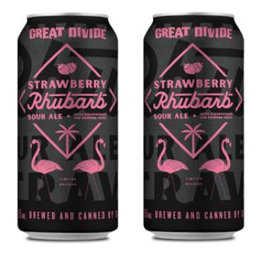 Great Divide Strawberry & Rhubarb 35BO