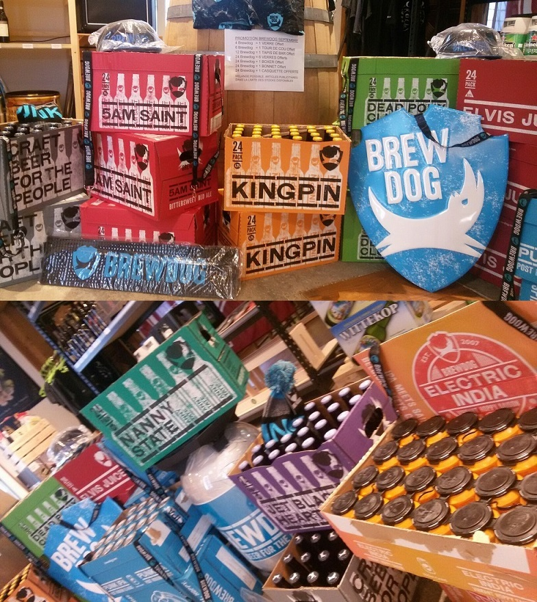 Promotion Brewdog en septembre